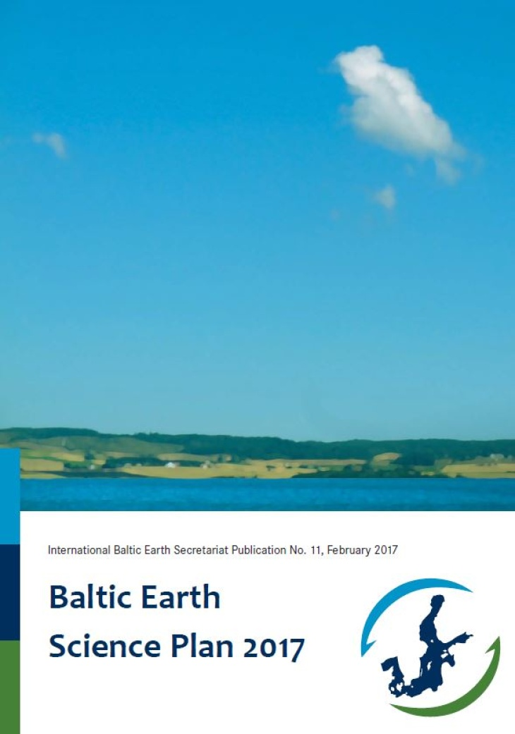 Baltic Earth Science Plan 2017 2017